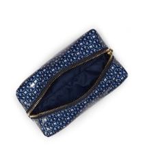 Tory Navy Multi (logo Lattice A) Tory Burch Brigette Cosmetic Case