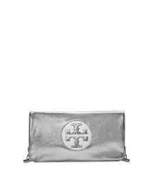 Tory Burch Reva Clutch Mit Metallic-effekt