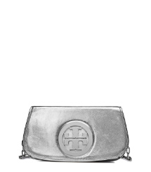 METALLIC LOGO CLUTCH