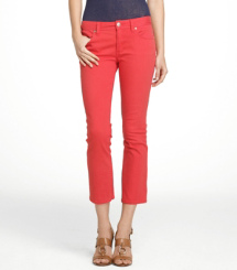 CROPPED SLIM BOOT | RED VOLCANO | 629