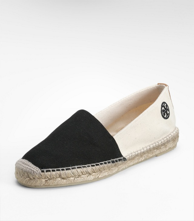 BI-COLOR ESPADRILLE