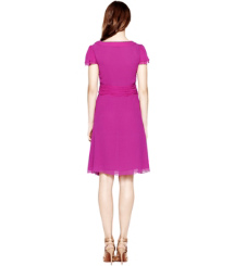 Party Fuschia. Tory Burch Venice Dress