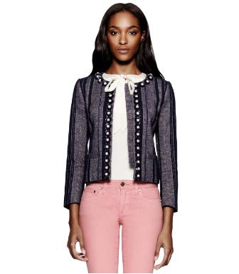 Tory Burch Eliza Tweed Jacket