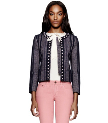 Tory Burch Eliza Tweedjacke