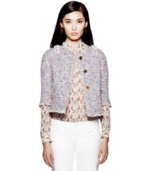 Tory Burch Emma Tweed Jacket