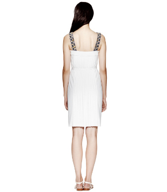 Pure White Tory Burch Jacqueline Dress