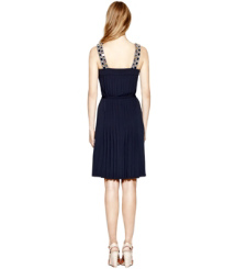Med Navy Tory Burch Jacqueline Dress