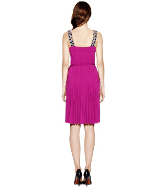 Party Fuschia. Tory Burch Jacqueline Dress