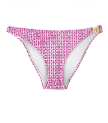 Party Fuschia Sando  Tory Burch Logo Printed Bottom