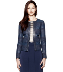 Tory Burch Autumn Lederjacke