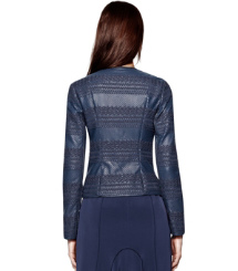 Tory Burch Veste En Cuir Autumn