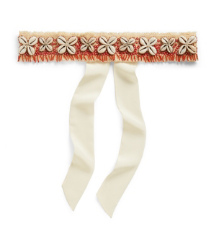 Tory Burch Puka Shell Sash-headband