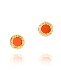Chili Pepper Tory Burch Cole Enamel Stud Earring