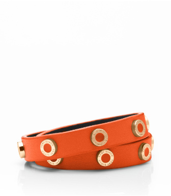 COLE ENAMEL DOUBLE WRAP BRACELET