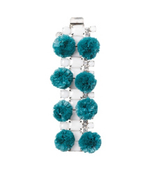 Tory Burch Pom-pom Resin Bracelet