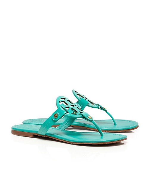 Patent Leather Miller Sandal