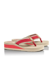 Tory Burch Ray Wedge Flip Flop
