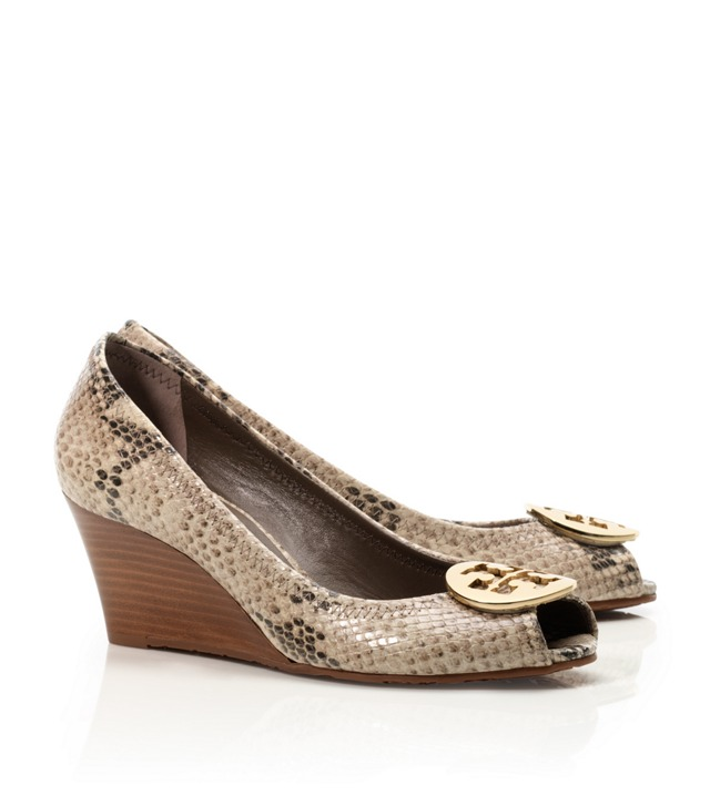 Python Printed Sally Wedge