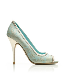 Tory Burch Chantalle Peeptoe Pumps