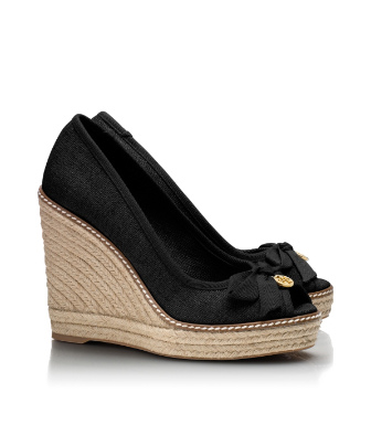 Tory Burch Jackie Espadrille Wedge