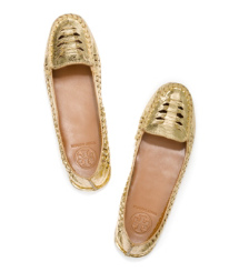 Tory Burch Metallic Nadia Moccasin