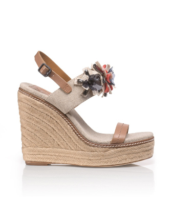 Tory Burch Mallory Espadrille Wedge