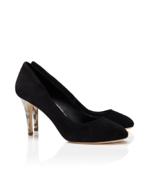 Tory Burch Snake Trim Mabel Pump