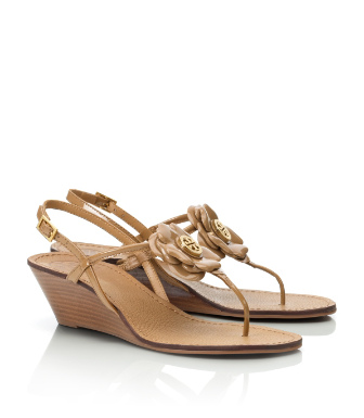 Tory Burch Mid Wedge Shelby Sandal