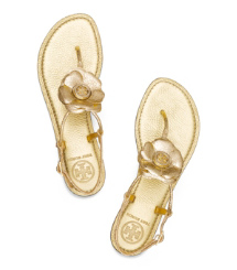 Tory Burch Metallic Shelby Thong
