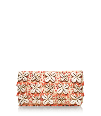 Tory Burch Puka Shell Clutch