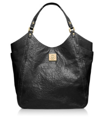 Black Tory Burch Louiisa Slouchy Tote