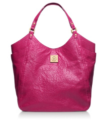 Royal Fuchsia Tory Burch Louiisa Slouchy Tote