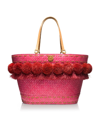 Tory Burch Beachy Norah Bucket Tote