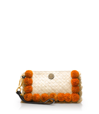 Tory Burch Beachy Norah Flat Clutch