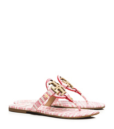Tory Burch Miller Striped Sandal