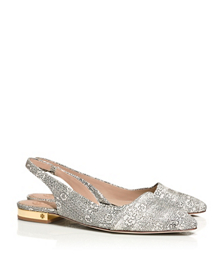 Tory Burch Classic Pointy Toe Slingback Flat