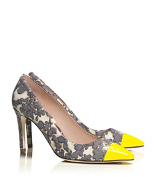 Tory Burch Issy High-heel Floral Pump
