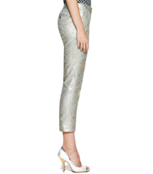 Tory Burch Lola Metallic-hose