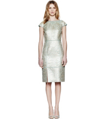 Tory Burch Lola Metallic Dress