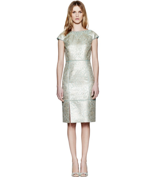 LOLA METALLIC DRESS