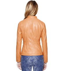 Tory Burch Beacon Leather Jacket