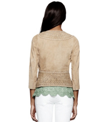Tory Burch Ryan Wildlederjacke