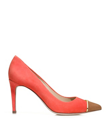 Tory Burch Bar Logo Pump