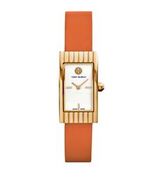Tory Burch腕表 橙色皮革/金色,31 x 17 毫米