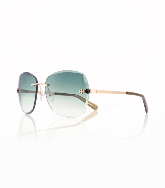 Rimless Front-Logo Sunglasses