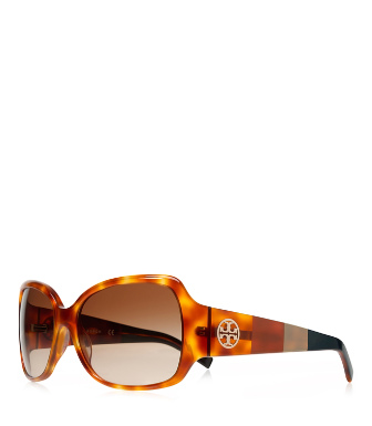 Honey Tort Block Tory Burch Semi-square Sunglasses