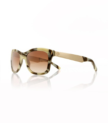 Tory Burch Vintage Square Sunglasses With Metal Logo
