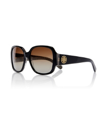 Dark Tort Tory Burch Oversized Square Sunglasses