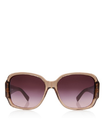 Purple Tory Burch Oversized Square Sunglasses