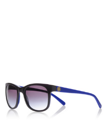 SQUARE GLAM LOGO TEMPLE | 061 | Women's Acetate Sunglasses